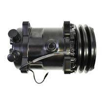 A-Team Performance Sanden 508 Style Black Clutch V-Belt A/C Compressor, Black image 7