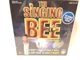 The Singing Bee Family Dvd Music Board Game Brand Gift Nib New Sealed - $24.75