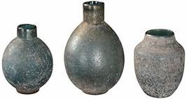 Uttermost Mercede Blue-Green 3-Piece Glass Vase Set - $118.80