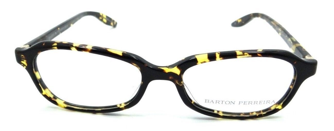 a0cc07031f8 ... Barton Perreira Raynette Eyeglasses Frames 51-17-135 Heroine Chic Gold  Unisex ...