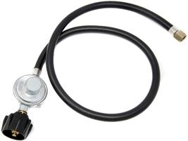 Regulator Hose Gas Tank LPG Low Pressure Regulator Fire Pit Grill Heater 3 ft  - $12.50