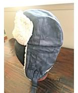COLUMBIA TITANIUM Bomber type Flap hat Small/Medium, DARK GREY - $14.50