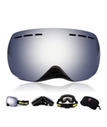 WOLFBIKE Ski Goggles Anti-Fog Double Lens Big Spherical Skate Snowmobile... - €24,03 EUR