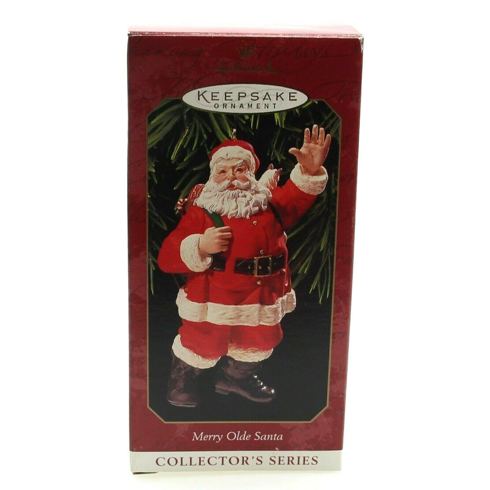 Hallmark Keepsake Ornament Merry Olde Santa Series 10th Final Christmas 1999 New