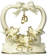 Appletree Design 50th Anniversary Orchid Cake Topper, 4-1/2-Inch Tall - $37.43