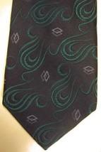 NEW Robert Talbott Best of Class Bond Street Blue Aqua Purple Swirls Sil... - $44.99