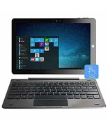 10.1 inch Windows Tablet PC - AWOW 2-in-1 Touchscreen Laptop 4GB RAM 64G... - $459.61
