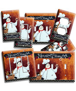 DRUNK ITALIAN FAT CHEF LIGHT SWITCH OUTLET PLATES KITCHEN DINING ROOM AR... - $9.99+