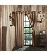 Millsboro Scalloped Panel Set 84x40 curtains lodge lake house cottage ca... - $76.00
