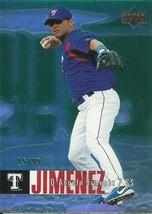 2006 UPPER DECK SPECIAL F/X GREEN #835 D'ANGELO JIMENEZ 5/99 RANGERS FRE... - $2.99