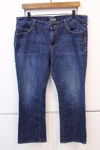 W11992 Womens OLD NAVY The Diva cotton/poly/spandex bootcut JEANS, size ... - $13.55