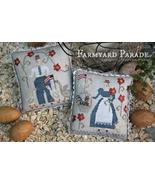 Farmyard Parade cross stitch chart  With Thy Needle Brenda Gervais  - $12.00