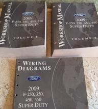2009 Ford Truck F-250 F250 F-350 F450 550 Service Shop Repair Manual Set... - $276.89