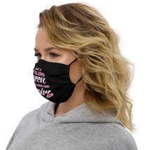 Girls boss Premium face mask Just a Bling Queen Building her Empire  image 2