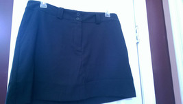 NWT Ladies NIKE GOLF BLACK SKORT SKIRT - sizes 8, 12 & 14 DRI-FIT - $32.99