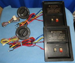 Kenwood X-21-1270-80 4 Way Crossovers w/ Tone Control (pair) From Trio K... - $83.80