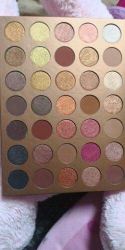 Morphe Brushes 35G Bronze Goals Artistry Eyeshadow Palette NIB 100% AUTHENTIC