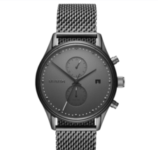 MVMT Voyager - 42MM Mesh Band Dual Time Zone Watch - $149.95