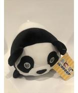 Fiesta Lil Huggy Meg Panda 8'' Plush Pillow Stuffed Animal W1E - $13.95