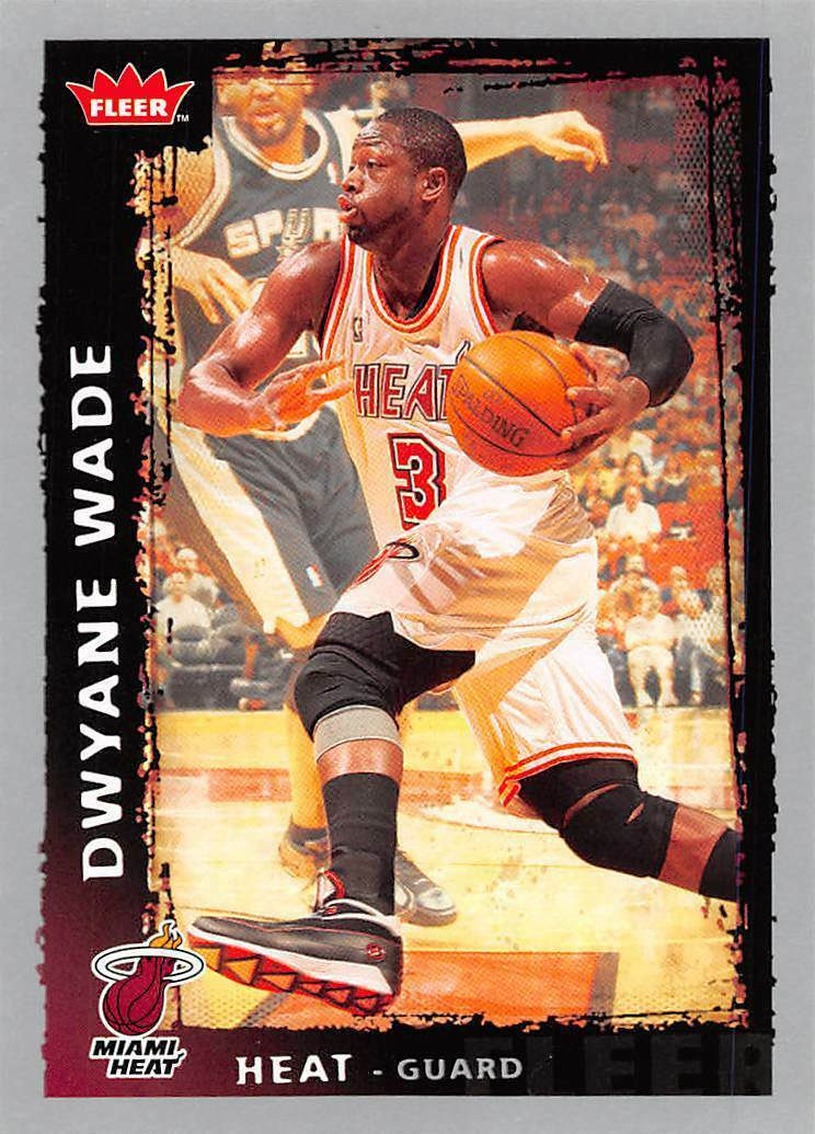 2008-09 Fleer #95 Dwyane Wade > Miami Heat