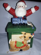 "Lenox Rudolph The Red Nose Reindeer Candy Dish -2002 Retired - 9"" Tall x 5"" - $24.26"