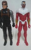 "Falcon / Buky Winter Soldier Hasbro Marvel Avengers 12"" Action Figure Ti... - $18.48"