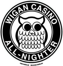 Northern Soul composite laminated circular wall plaque 25cm Wigan Casino... - $32.00
