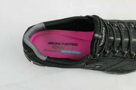 Skechers women's shoes relaxed fit air cooled memory foam black size US 9.5 image 7