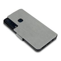 Slim Profile Composite Cover Black Wallet Book Grey Case  Galaxy A9 2018 - $19.87
