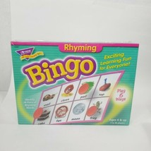 Bingo Rhyming Learning Educational Game Trend Ages 4+ Home School Play 6... - $19.35