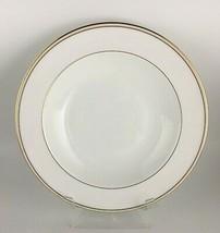 Wedgwood Vera Wang Champagne Duchesse Rimmed soup bowl - $50.00