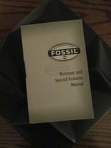 FOSSIL Watch Manual N8-01/00 - $3.49