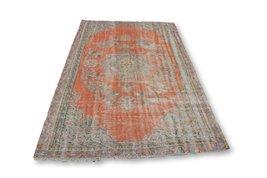 Turkey Rug, Turkish Tribal Area Rug, Muted Rug, Pastel Rugs - $734.08