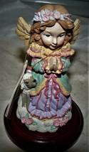 Life's Most Cherished Memories Christmas Around the World Praying Angel ... - $11.39