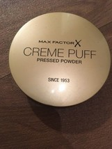 Max Factor Creme Puff Pressed Powder 21g - Candle Glow #55 Makeup Cosmetics - $6.90