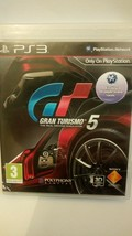 Gran Turismo 5: PS3 videogame MANUAL CLEAN DISC FREE SHIPPING Boxed Play... - $14.84
