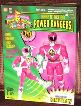 1994 Mighty Morphin Power Rangers KIMBERLY Karate Action Figure MMPR Ban... - $25.00