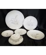 Vtg Wentworth China Silver Wheat Pattern, Set of 4 Place Settings, 28 pc... - $130.50