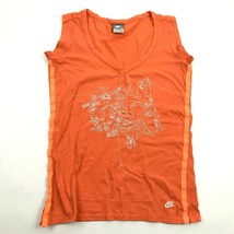 NIKE NY Women's Sleeveless V-neck Shirt Size M New York Embroidered City... - $19.13