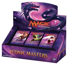 Magic The Gathering – Iconic Masters Booster Box - $235.97