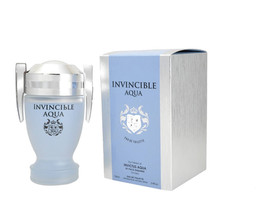 INVINCIBLE AQUA Eau de Toilette Men's Cologne 3.4 oz EDT PERFUME IMPRESSION - $9.99