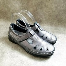 SAS Womens  85897253 Size 8 Gray  Leather slip On Loafer Flats - $24.99