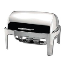 Winware  Madison 8qt Full-size Chafer, Roll-top, S/S, Heavyweight - $123.99