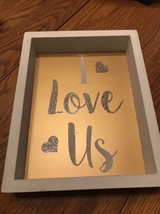 Reverse Box Sign - I Love Is Ships N 24h - $17.80