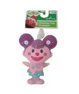 Sesame Street Hallmark Christmas Tree Ornament Zoe Pink and Purple - $6.58