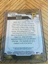 2017 Bowman's Best Shanw Baz Auto image 2