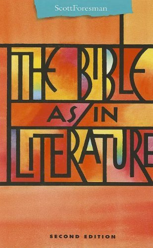 THE BIBLE AS/IN LITERATURE ANTHOLOGY (Points of Departure) [Hardcover] [Jan 08,