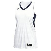 Adidas Commander 15 Womens Basketball Jersey S White-Navy - $45.44