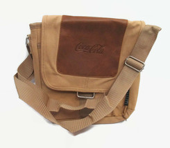 Coca-Cola Field and Co Canvas Tablet Bag Embossed Logo Padded  - BRAND NEW - $44.55