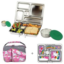 Stainless Steel Bento Lunch Box With 5 Compartments for Adults Kids Food... - $95.62